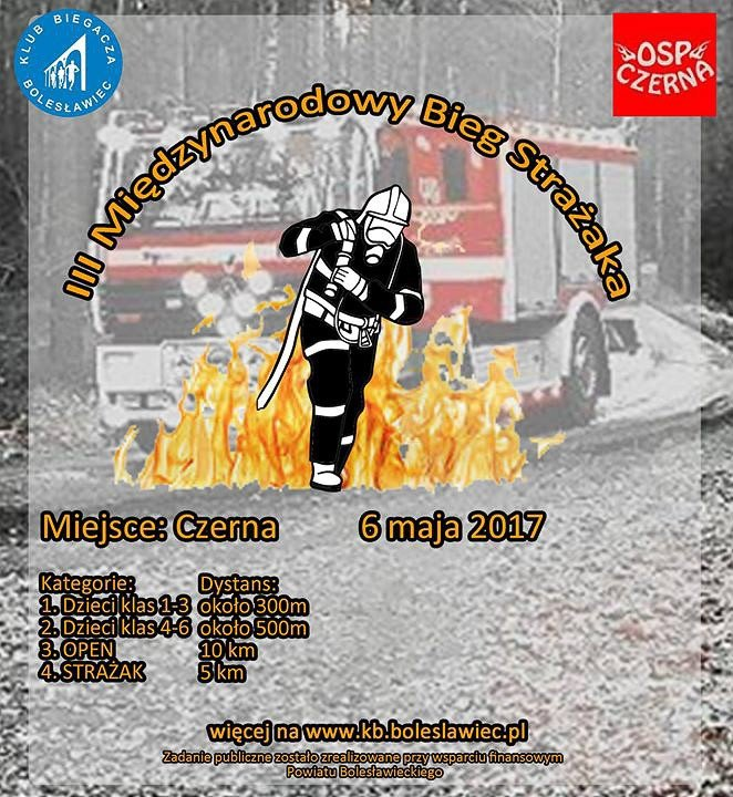 Międzynarodowy Bieg Strażaka coraz bliżej
