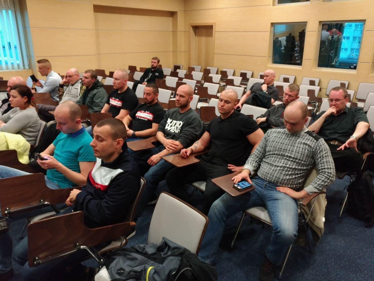 Uczestnicy spotkania z posłami Kukiz'15