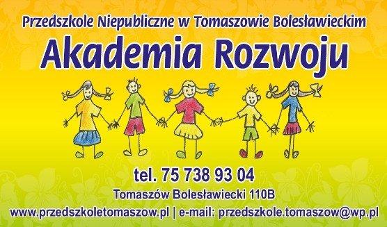 Rekrutacja do Przedszkola - Akademia Rozwoju w Tomaszowie Bolesławieckim