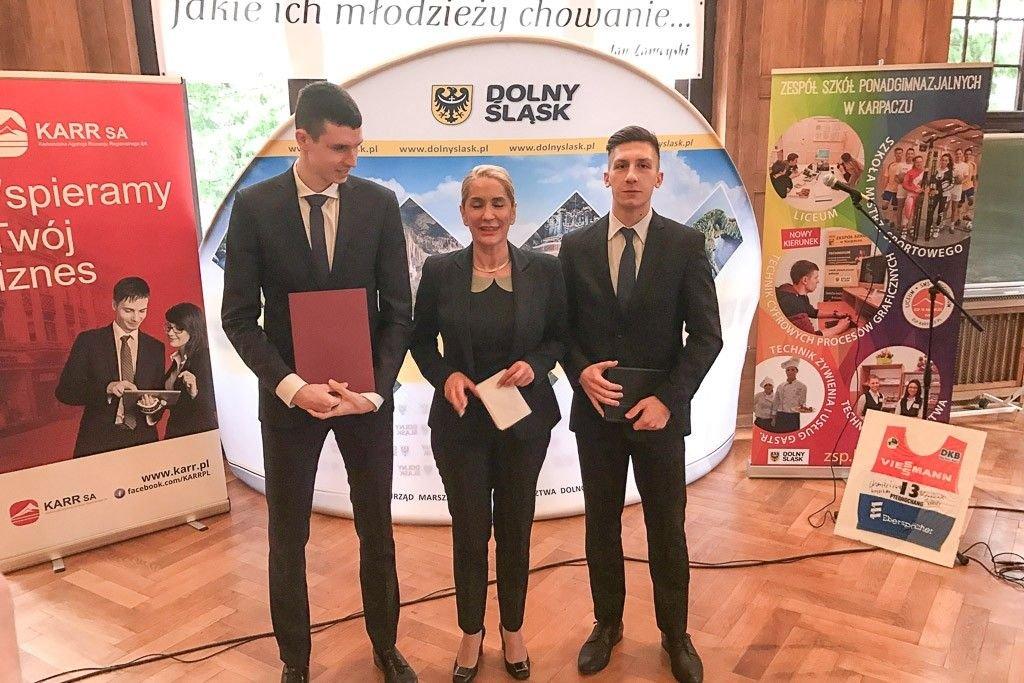 Cezary Przybylski po raz kolejny docenił bolesławiecki klub.