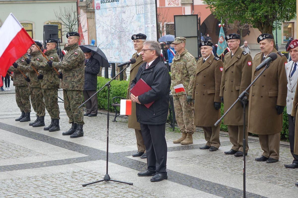 Święto Flagi na bolesławieckim Rynku