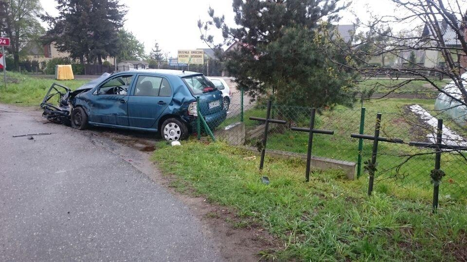 Wypadek w Parzycach