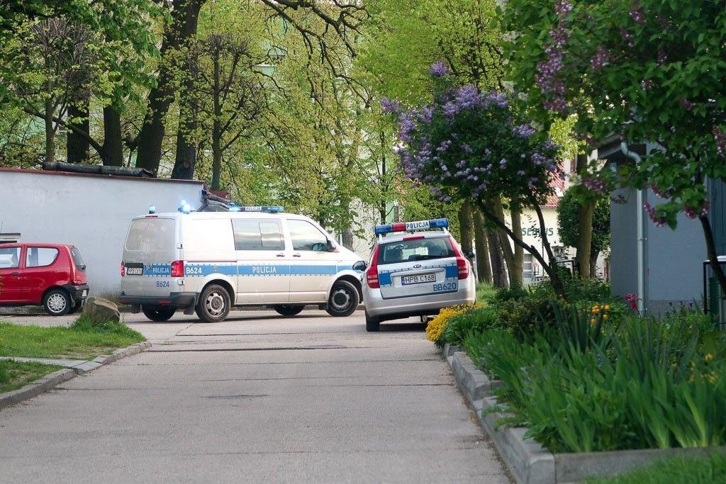 Interwencja policji przy ul. Staroszkolnej