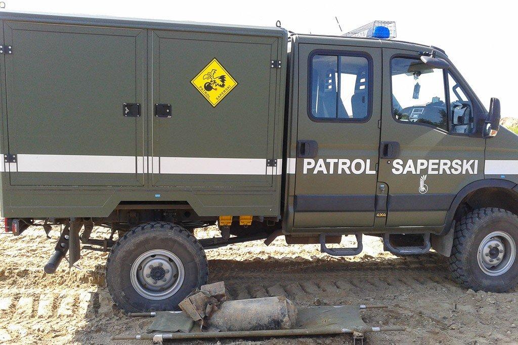 100-kilogramowa bomba lotnicza w Osłej