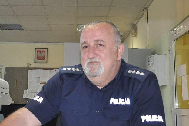 Policjant, który pomógł mężczyźnie