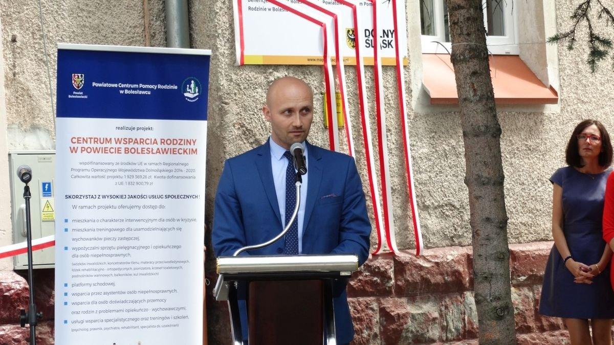 Otwarcie Centrum Wsparcia Rodziny w Powiecie Bolesławieckim