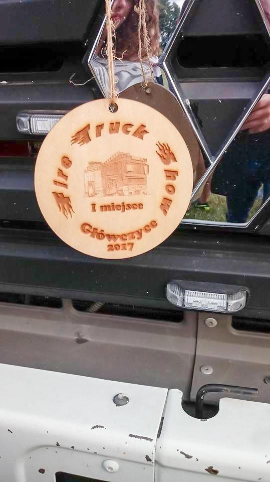 Pojazd strażaków z Czernej najładniejszym autem na Fire Truck Show