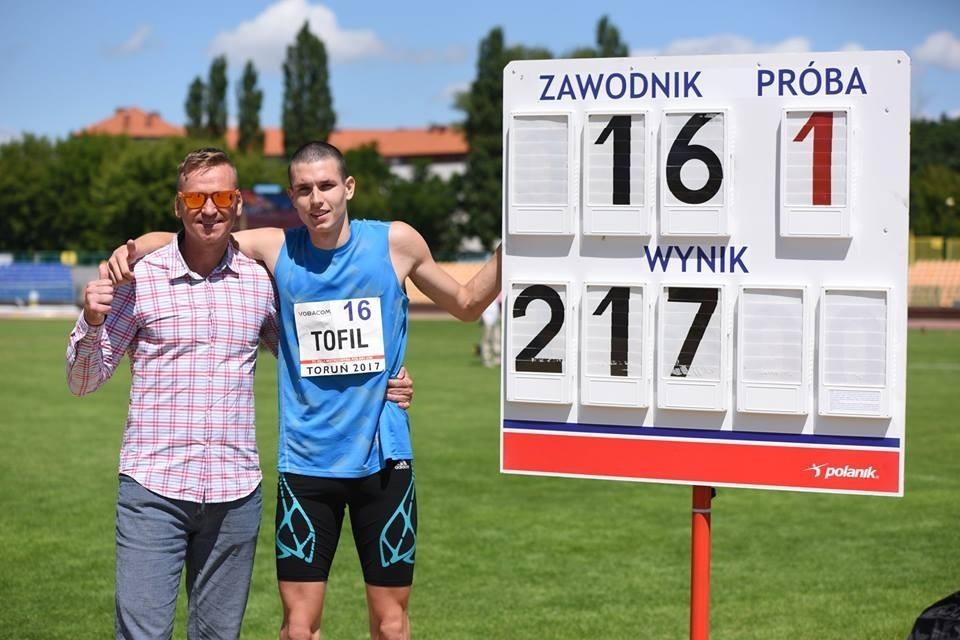 Mateusz Tofil Mistrzem Polski Juniorów z-index: 0