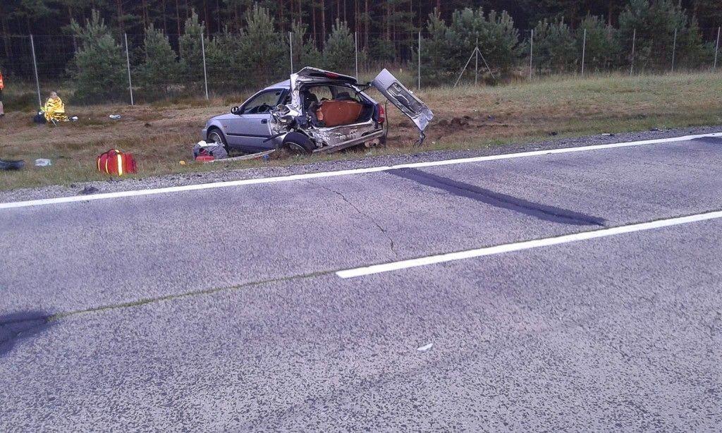 Ford staranował Hondę na A18