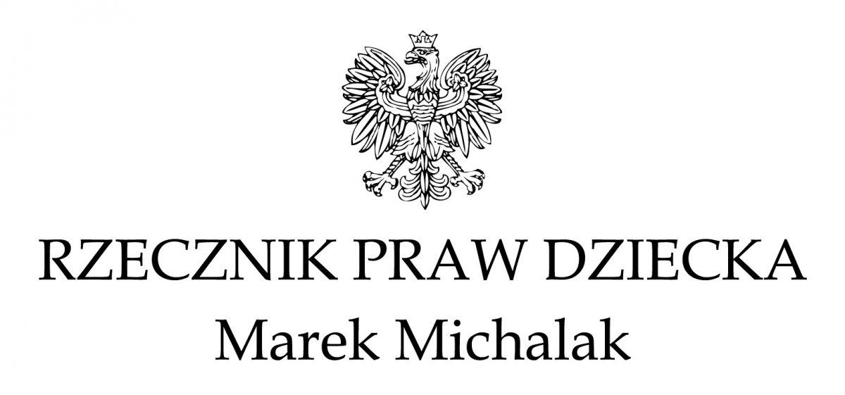 Logotyp Rzecznik Praw Dziecka
