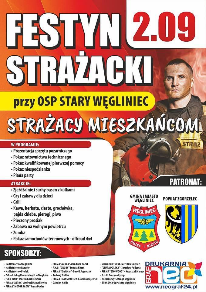 Drugi Festyn Strażacki w Starym Węglińcu