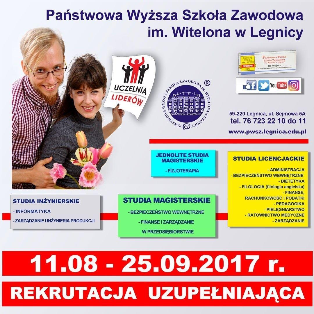 Rekrutacja do PWSZ w Legnicy