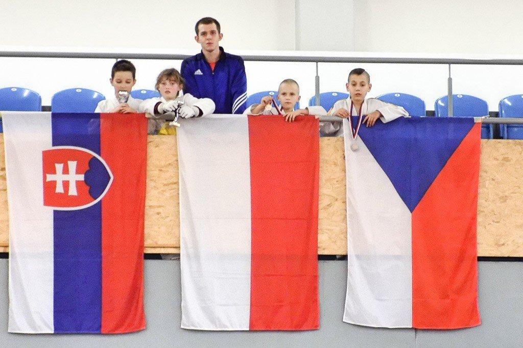 Taekwondziści z Chojnowa, podopieczni Yevgena Nikitina, cztery razy na podium Sokol Cup