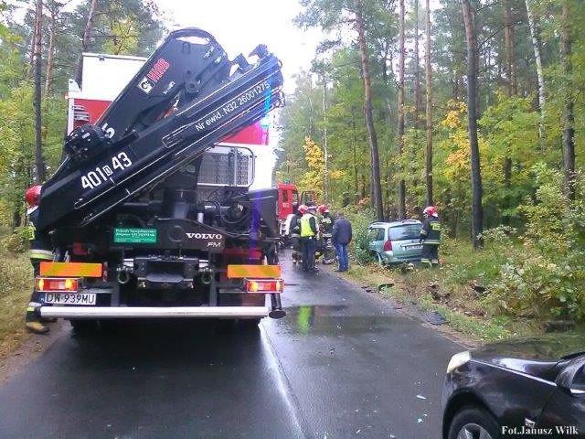 Wypadek między Osłą a Gromadką. 9-latek trafił do legnickiego szpitala z-index: 0