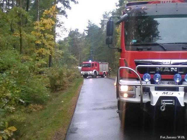 Wypadek między Osłą a Gromadką. 9-latek trafił do legnickiego szpitala
