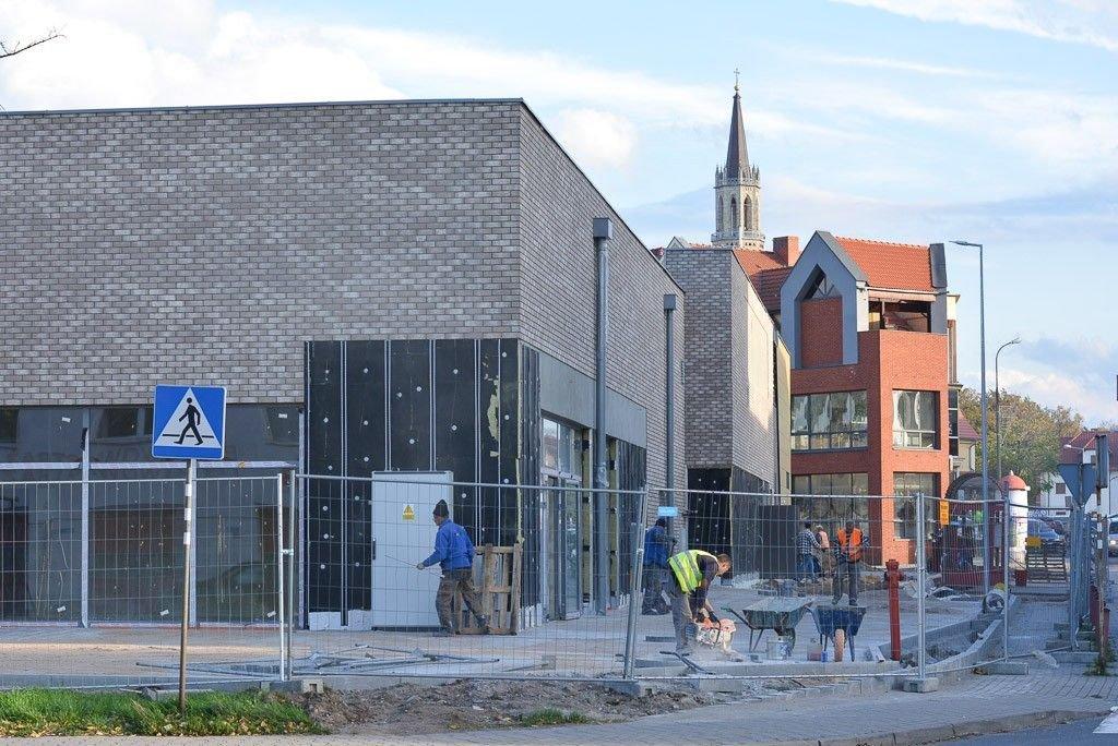 Budowa galerii przy ulicy Wesołej w Bolesławcu