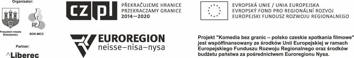 Logotyp Komedia bez granic