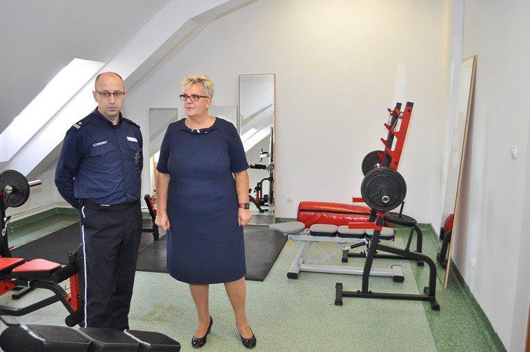 Nowa sala treningowa dla zgorzeleckiej policji