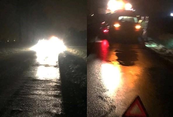 Zderzenie trzech aut koło Warty Bolesławieckiej
