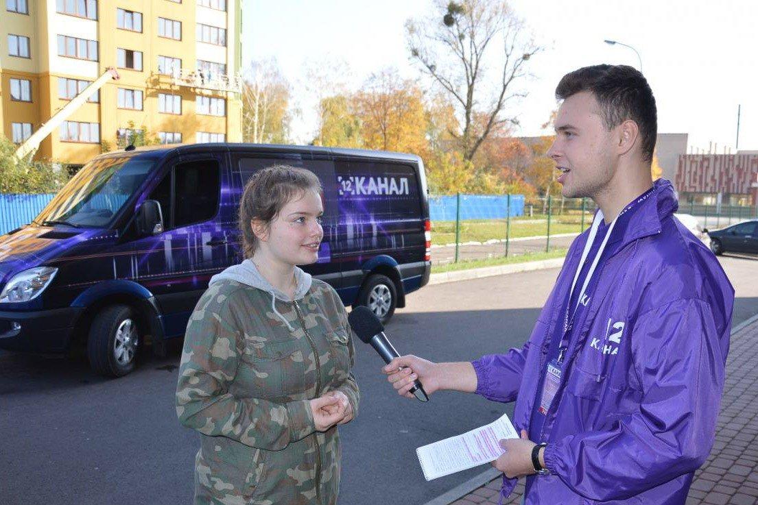 Gimnazjaliści z Bolesławca i Łucka na Ukrainie robią telewizję