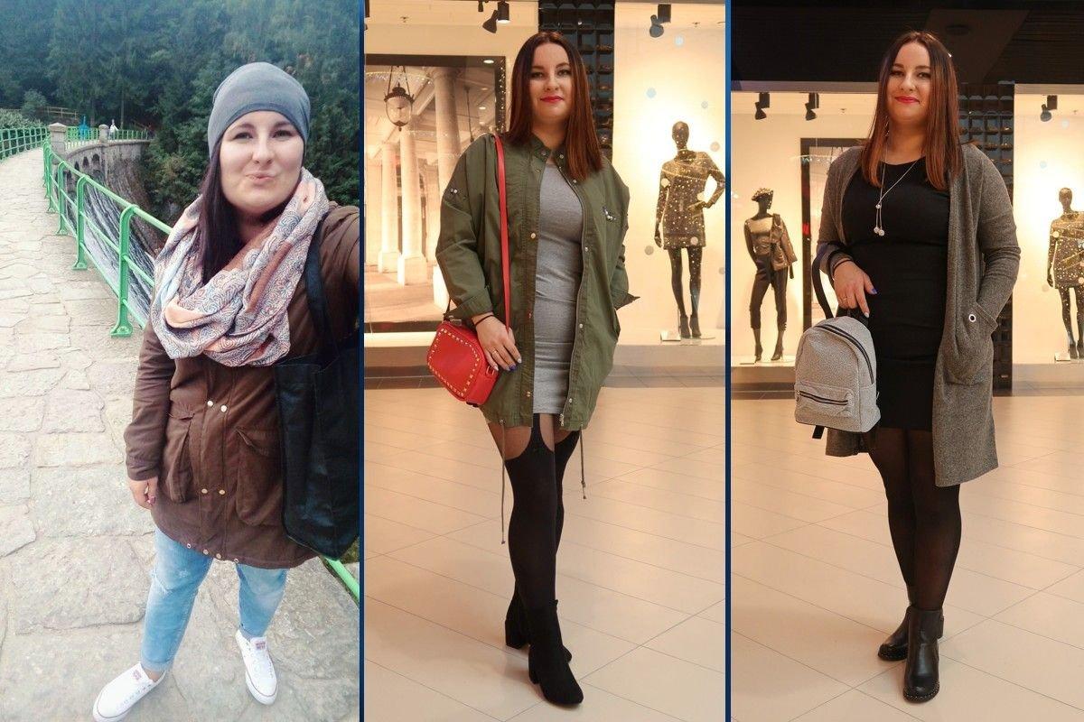 Ewa Bednarek-Bejgier przed i po metamorfozie