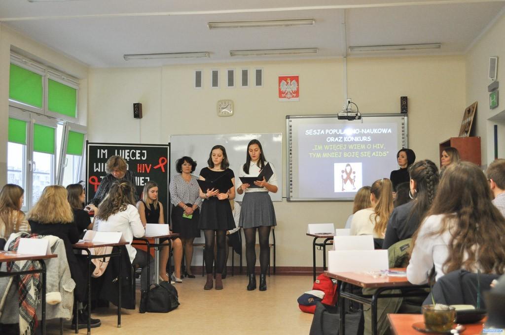 O AIDS w lubińskich szkołach z-index: 0