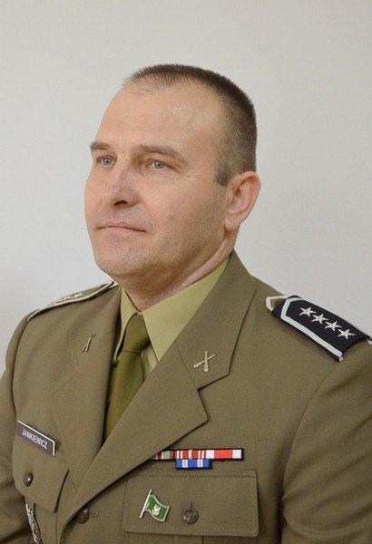 st. chor. szt. Paweł Jankiewicz, dowódca plutonu dowodzenia 1 das