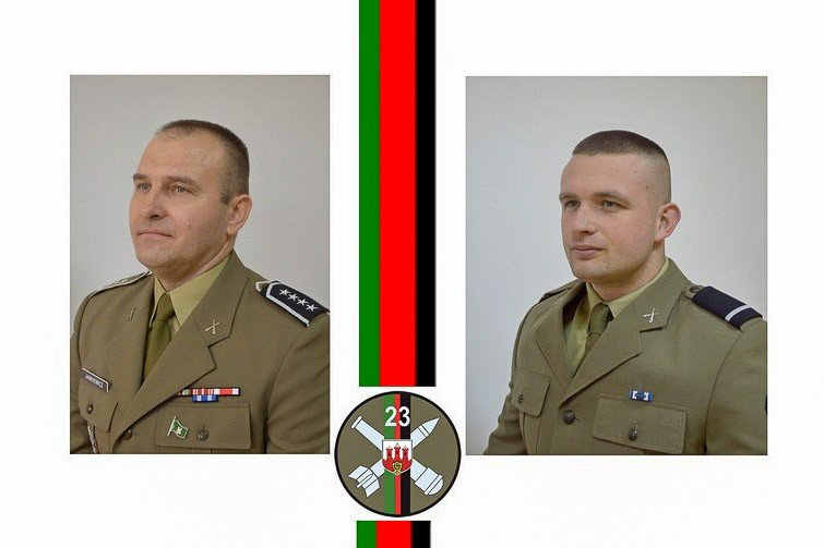 23 Pułk Artylerii: podoficer i szeregowy roku wybrani z-index: 0