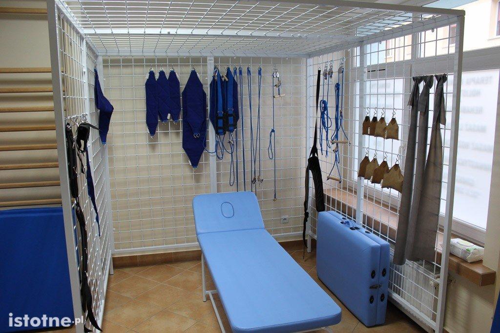 Szpital powiatowy: Dział Fizjoterapii otwarty z-index: 0