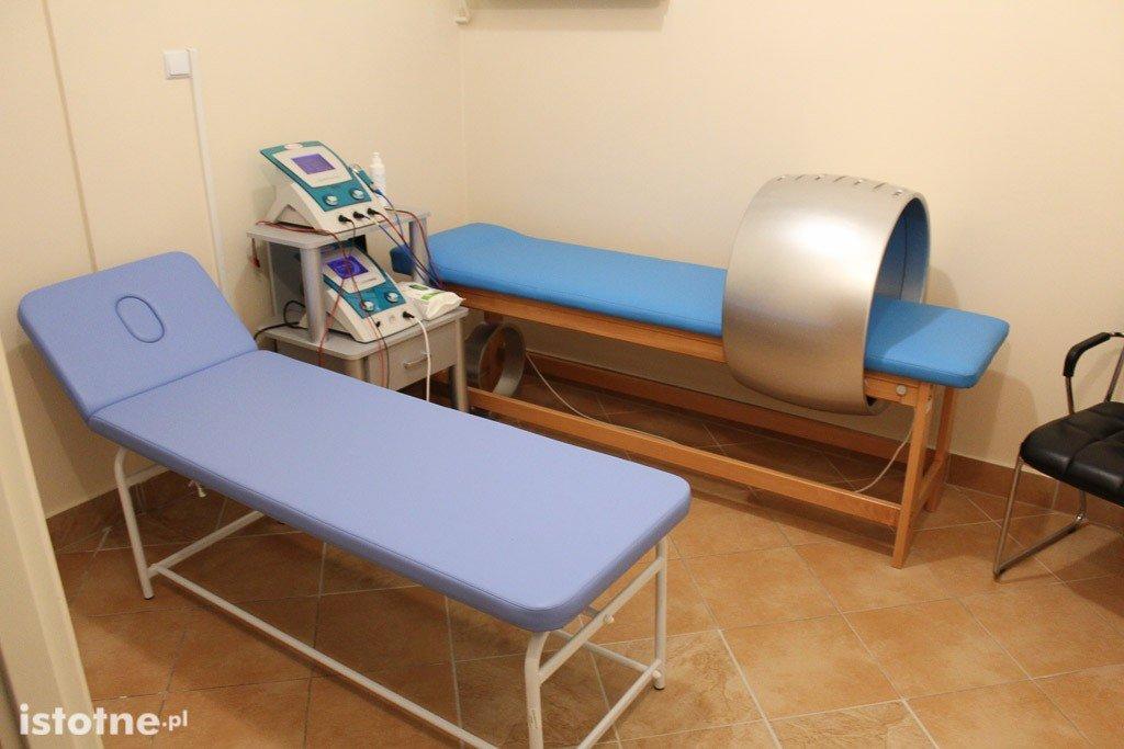 Szpital powiatowy: Dział Fizjoterapii otwarty