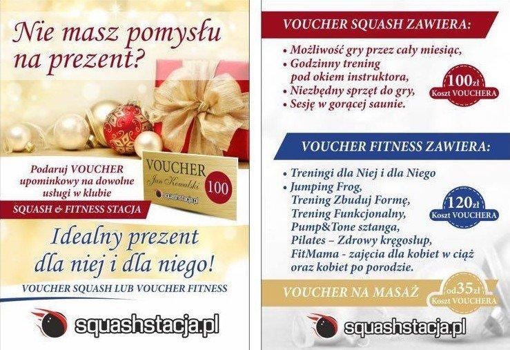 Squashstacja - Vouchery