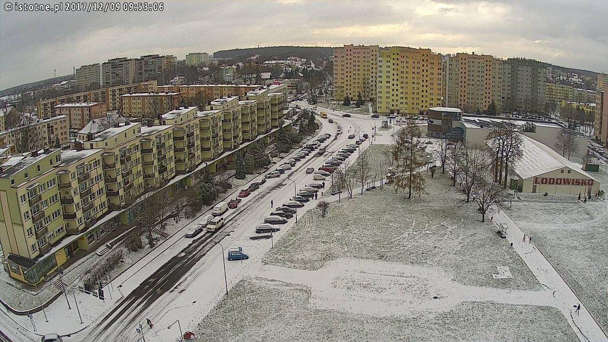 Zima w Bolesławcu