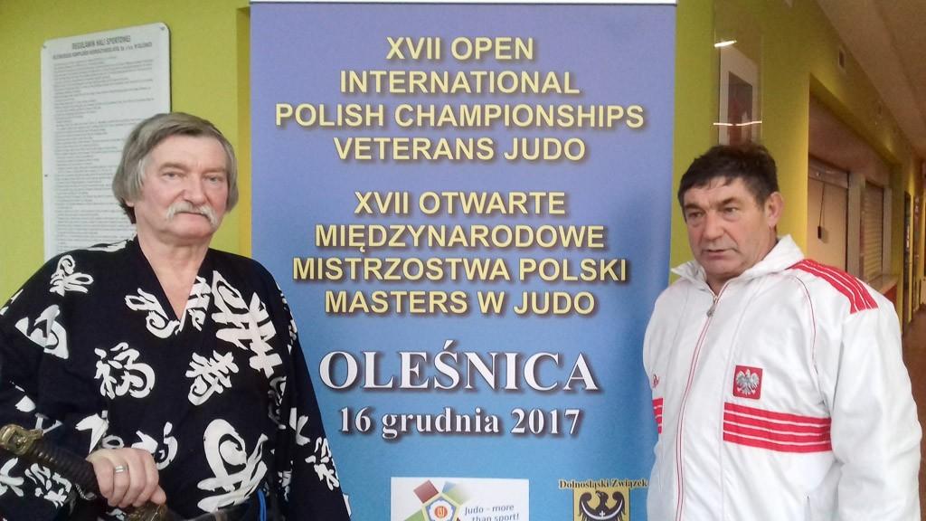 Edward Spraski srebrnym medalistą Mistrzostw Polski w judo