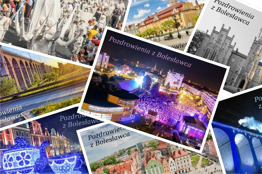 Kartki pocztowe (pocztówki) z najpiękniejszymi miejscami i zabytkami Bolesławca