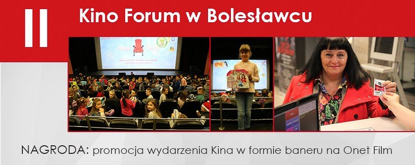 Kino Forum wygrało promocje na Onet Film