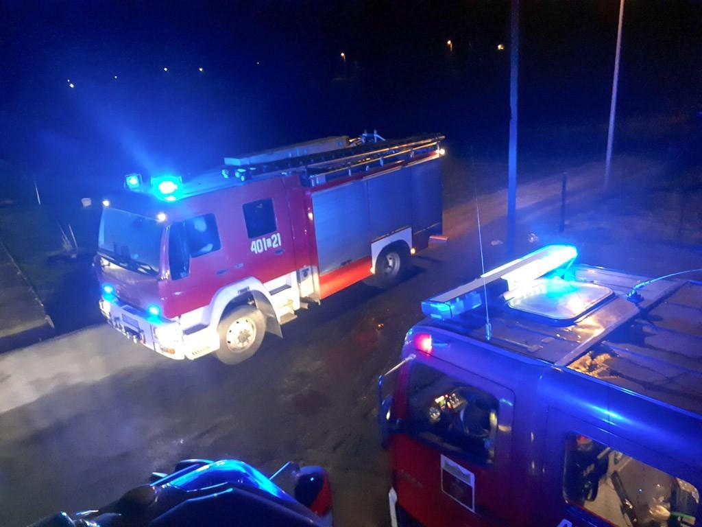 Strażacy interweniowali w Raciborowicach Górnych