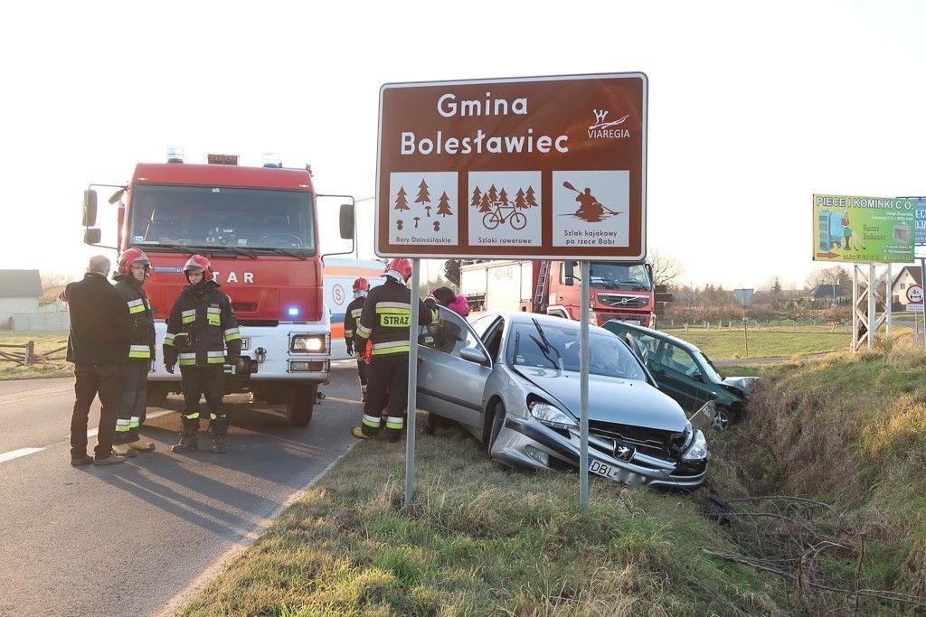 Wypadek w Kraśniku Dolnym