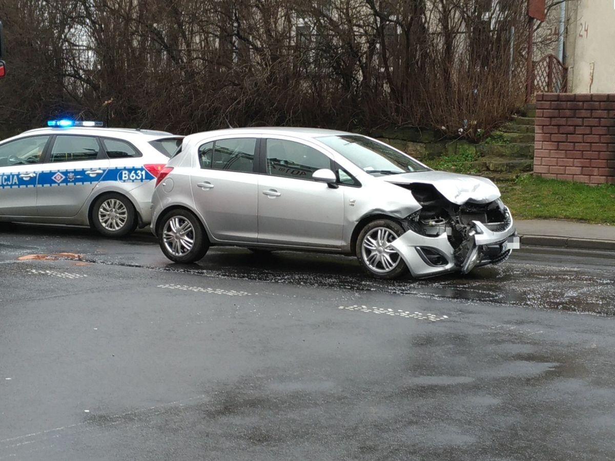 Zderzenie aut na Kościuszki z-index: 0