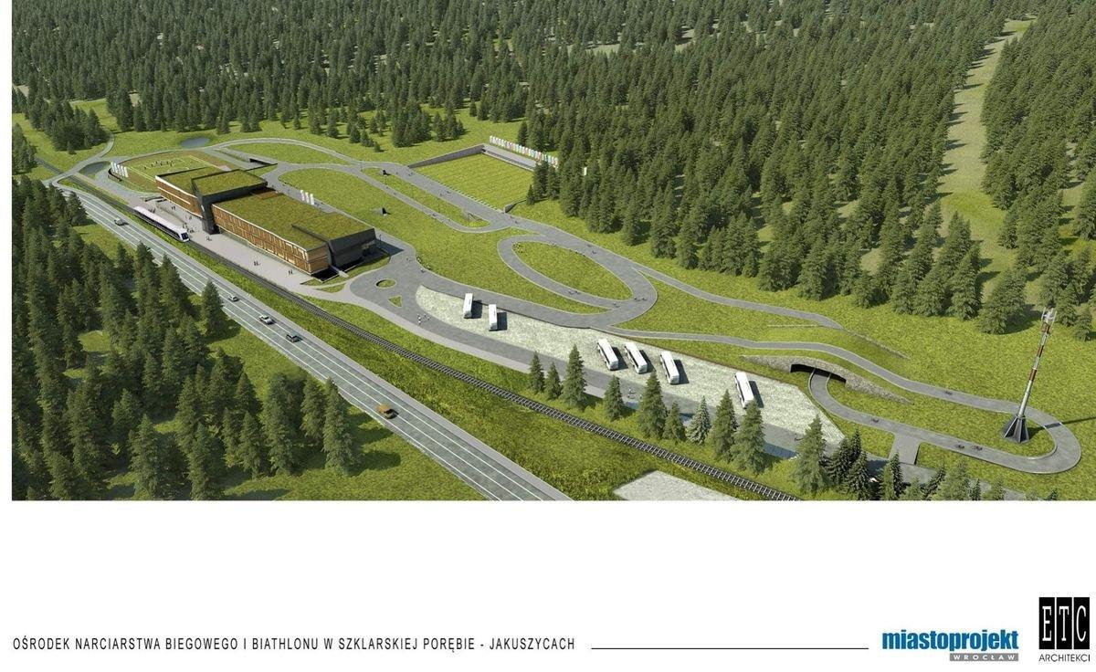 Ośrodek narciarstwa biegowego i biathlonu w Szklarskiej Porębie-Jakuszycach