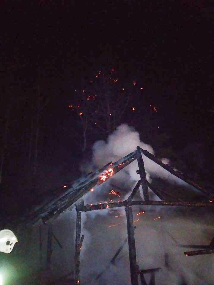 Cztery pożary w gminie Osiecznica. Trzy podpalenia z-index: 0