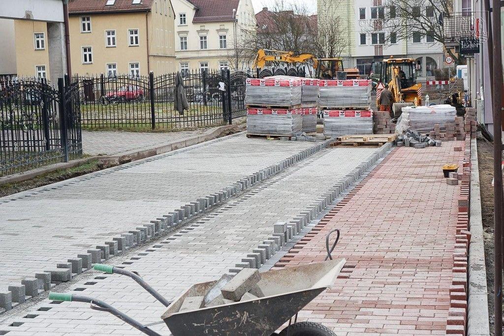 Będzie droga wewnętrzna Łokietka-Piaskowa, parking i plac zabaw