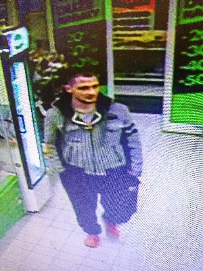 Poznajesz tego mężczyznę? Jest podejrzany o kradzież