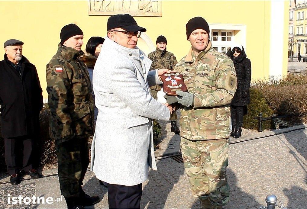 Bolesławiec żegna żołnierzy US Army