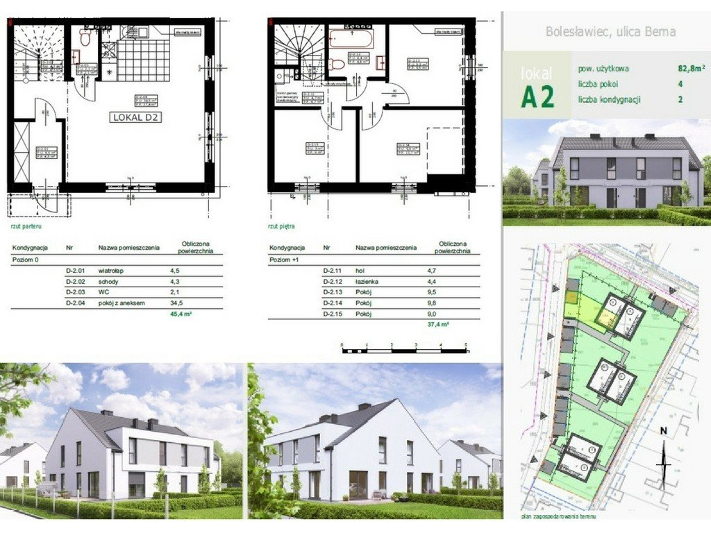 Wille Miejskie Bema – mieszkania z ogrodami
