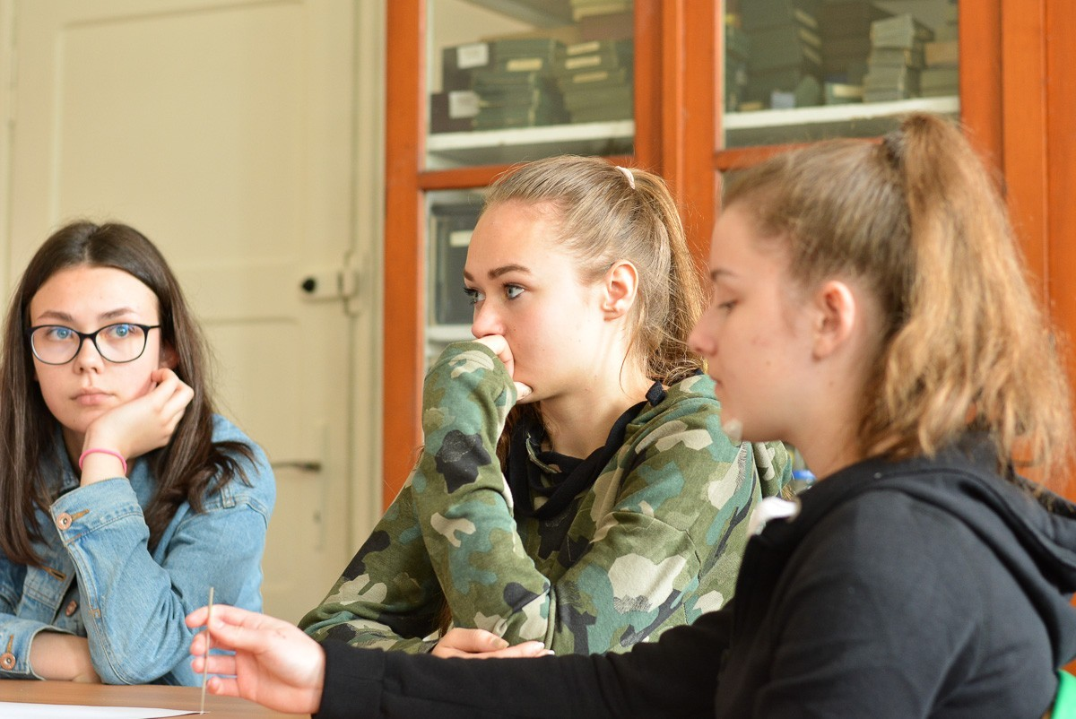 Fabryka Przyszłości w I LO. Ponad 130 gimnazjalistów zainteresowanych powiatową szkołą z-index: 0