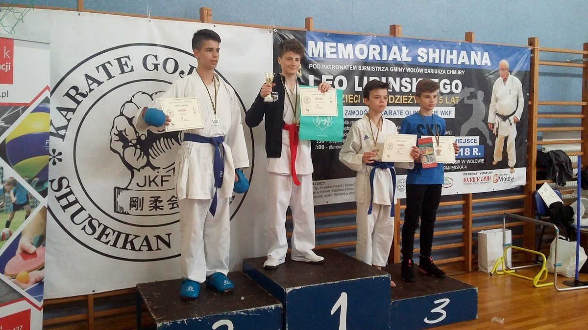 Bolesławieccy karatecy z 7 medalami z-index: 0