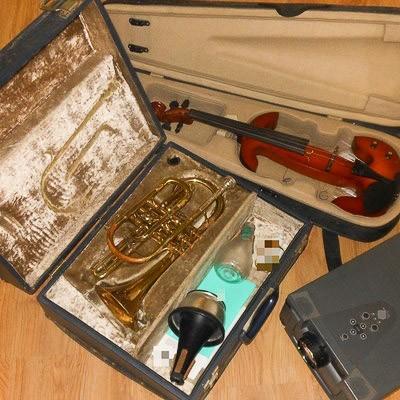 Ukradł instrumenty warte blisko 12 tys. zł. Złodziej zatrzymany z-index: 0