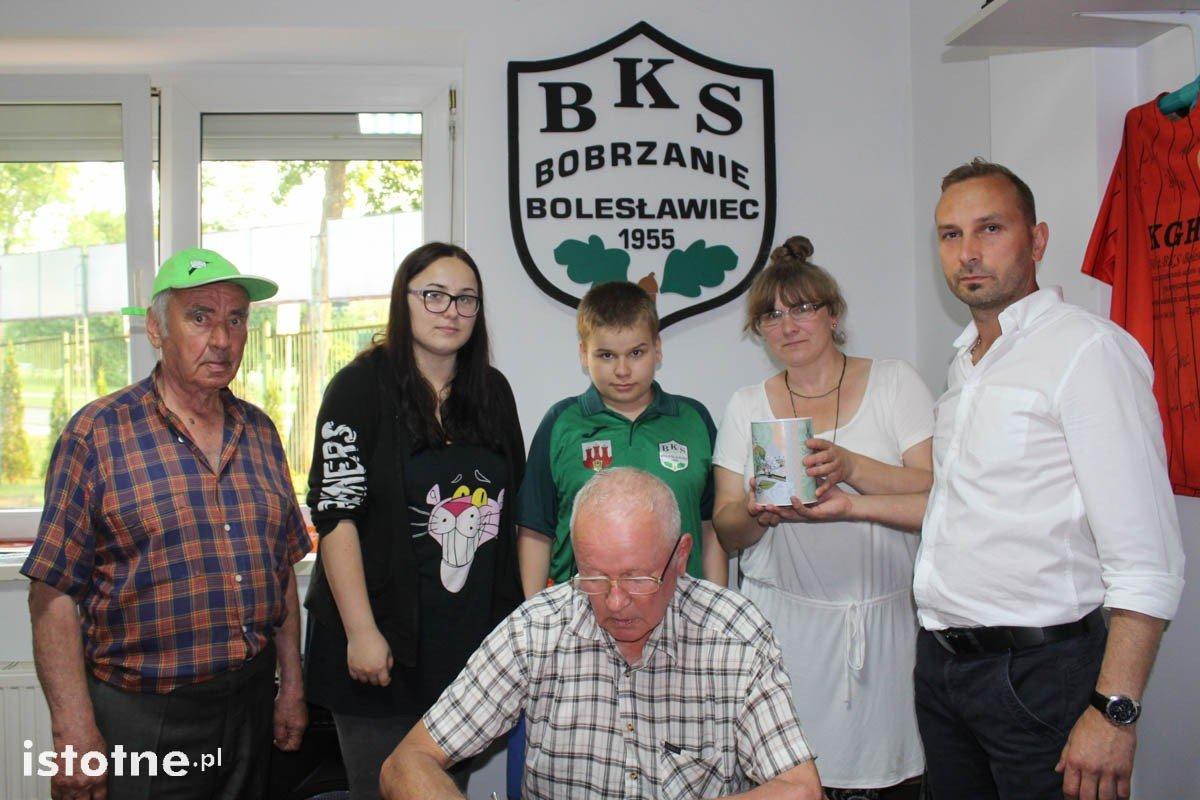 Charytatywno-ligowy mecz BKS Bolesławiec - Granica Bogatynia