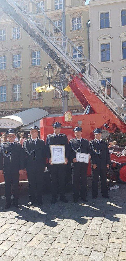 Strażacy ochotnicy z Ocic na trzecim miejscu w województwie!