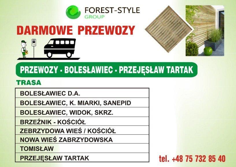 Forest Style - darmowe przewozy pracowników